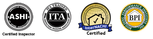 home inspector, ASHI certified, ITA trained, NACHI member